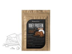 Protein&Co. CFM WHEY PROTEIN 80 - 30g Příchuť 1: Chocolate brownie