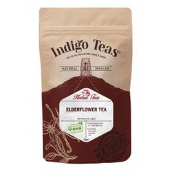 Indigo Herbs Elderberry tea powder - bezinkový čaj, 50 g
