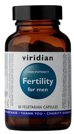 Viridian Fertility for Men 60 kapslí (potence)