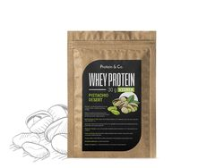 Protein&Co. CFM WHEY PROTEIN 80 - 30 g Příchuť 1: Chocolate brownie